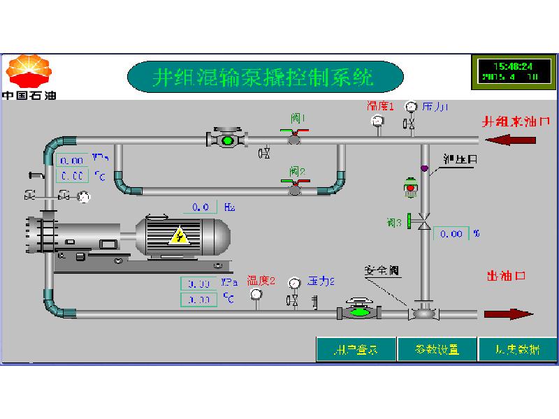 泵站PLC自动控制柜